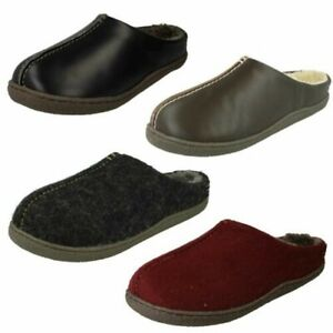 Mens Clarks Mule Slippers 'Relaxed Style'