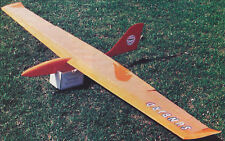 Sunbird 2 Meter Thermal Sailplane Plans, Templates and Instructions 78ws