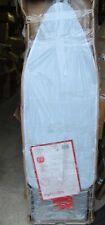 Vaporella Bügelbrett Bügeltisch FPAS0045 Fläche 124x48,5cm mit Rollen grau NEU