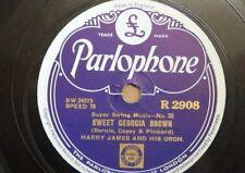 78 rpm HARRY JAMES ORCH sweet georgia brown / ciribiribin , EX