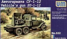 Unimodel 1/72 Su-1-12 76.2mm Pistola su Gaz AAA Camion #322