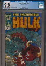 MARVEL COMICS INCREDIBLE HULK #341 1988 CGC 9.8 NEWSSTAND TODD MCFARLANE COVER