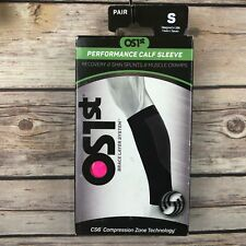 OS1st Calf Compression Sleeves Size Small Performance CS6 Pair Bright Pink NEW