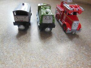 3 x thomas the tank engine metal trains