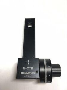 Olympus U-CTB POL Microscope Berek Compensator 20 Lambda Measuring Range