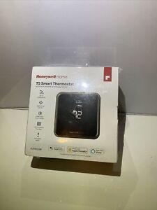 Honeywell Lyric T5 Wi-Fi Thermostat - Black - RCHT8610WF