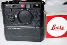 Leica M6 TTL 0.85 Black 35mm Rangefinder with standard base plate and winder