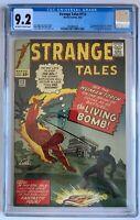 Strange Tales #112 CGC 9.2 - 1st App Eel the Living Bomb Marvel 1963 Comics