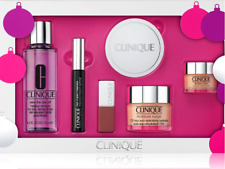 CLINIQUE FULL SIZE 6-PIECE Christmas Gift Set Moisture Surge,All About Eyes,Masc