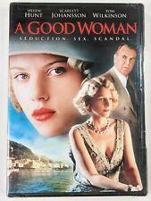 A Good Woman DVD Mike Barker 2004 Scarlett Johansson, Helen Hunt