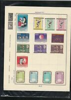 paraguay 1963 stamps page ref 18213