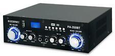DJ PA 200W Endstufe Power Amp Bluetooth Verstärker Karaoke Amplifier USB MP3