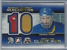 Dominik Hasek 2012 ITG Between The Pipes 10th Anniversary Glove / Pad /10