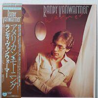 RANDY VANWARMER WARMER BEARSVILLE 25AP 1735 Japan OBI VINYL LP