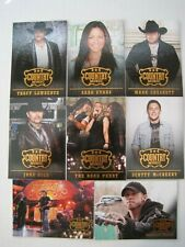 2014 Panini Country Music Complete Base Set  (100 Cards)