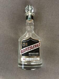 Old Fitzgerald 14yr decanter bourbon Bottle