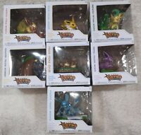 An Afternoon with Eevee and Friends Set 7 Pokemon Center Exclusive Figures FUNKO