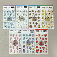 BTS BT21 Official Authentic Goods Masking Sticker 7SET by Kumhong Fancy +Track #