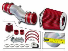 Short Ram Air Intake Kit + RED Filter for 93-97 Altima / 91-99 Sentra 200SX