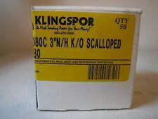 28 Qtynew Klingspor 3 Nh Ko Scalloped Ps33 080c New