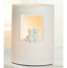 Gilde Porzellanlampe Katzenbabys 25cm h 33664 Lampe Dekoleuchte Katzenpaar