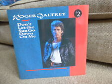 """New listing ROGER DALTREY - DON'T LET THE SUN GO DOWN ON ME (1987 12"""" VINYL SINGLE) THE WHO"""