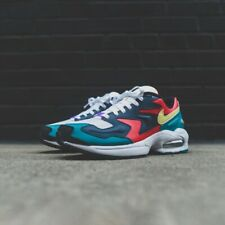 Nike Air Max2 Light SP QS Habanero Red Green UK 8 US 9 Force 1 90 95 OG 97 98
