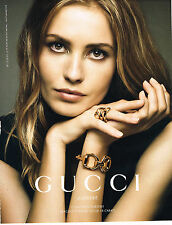 PUBLICITE ADVERTISING 025  2014  GUCCI   joaillier