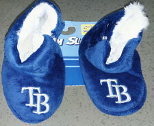 MLB Tampa Bay Rays Infant/Baby/Newborn Slippers/Booties/Shoes12-24 Month NEW