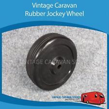 "Caravan RUBBER JOCKEY WHEEL 150mm  6"" Vintage Viscount  Camper  Trailer"