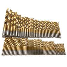 99x Titan HSS Spiralbohrer Satz/Set 1.5-10mm Werkzeug Set Metallbohrer bohrer