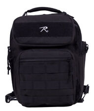 sling pack backpack tactical black compact tactisling rothco 25510