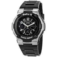 Casio Baby G Shock Resistant Negro Deporte Reloj de señoras de múltiples funciones BGA110-1B2