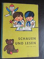 Schauen und Lesen-Teil 2-FIBEL-Lesebuch Klasse 4 -Hilfsschule 1965