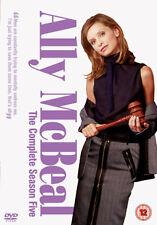 ALLY MCBEAL COMPLETE SERIES 5 - DVD - REGION 2 UK