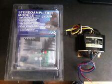Kit Ampli Son Velleman Stereo Borne Arcade Modul 2x30w VM 113 + Transfo R 50 VA