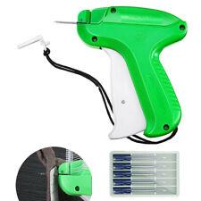 Price Tag Gun w/5pcs Needle Clothing Garment Brand Needle Tagging Machine Set Us