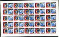 CAMEROON 1967 LION CLUB FULL IMPERF SHEETS SET ** MNH RARE +