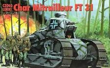PZ.KPFW 730(f) / RENAULT FT 31 WW II LIGHT TANK (GERMAN & FRENCH MKGS) 1/35 RPM