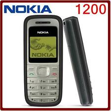 Original NOKIA 1200 GSM 900/1800 mobile phone multi languages