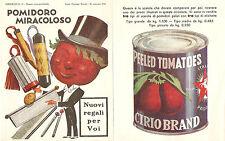 Catalogo a premi Cirio 1934  - Pomodoro in scatola - Oreficeria Calderoni