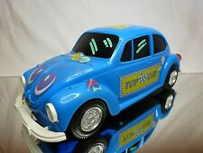 CHINA REPLICA REEL TOYS VW VOLKSWAGEN BEETLE - BLUE L33.0cm - GOOD CONDITION
