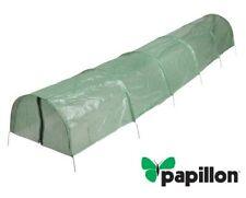 Serra per giardinaggio a Tunnel Papillon pronto alla posa in PE 2 aperture