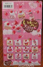 Re-ment Miniature Re-ment Ichigo Daisuki Strawberry Love Full Set of 12 HTF NEW