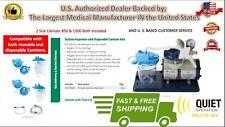 Medline Portable Vac Assist Suction Aspirator Heavy Duty Machine Medical Dental