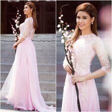 Ao dai co dau, ao dai cuoi, Vietnamese traditional long wedding dress with pants