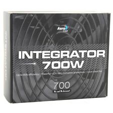 Aerocool Integrator 700W Computer Power Supply Unit PSU 12cm Black Fan Active