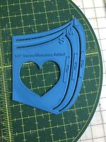 Mask Template /  mask pattern  *3 sizes* 3.2mm comes with how to guide DIY mask