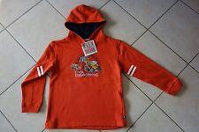 oranger Kapuzenpullover Sweatshirt Salt & and Pepper Baustelle Bagger Gr.128 NEU