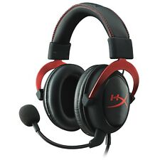 HyperX Cloud II Gaming Headset Mic PC PS4 Xbox One Nintendo Switch Stereo NEW